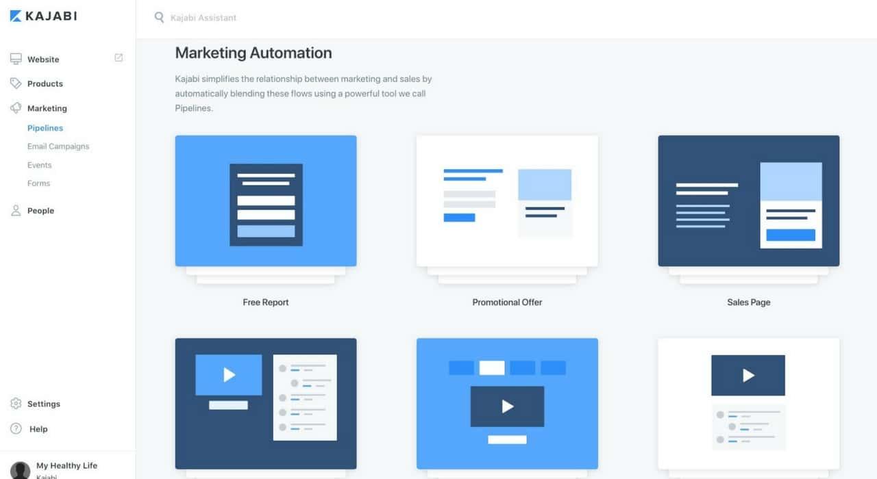 Kajabi-Marketing Automation