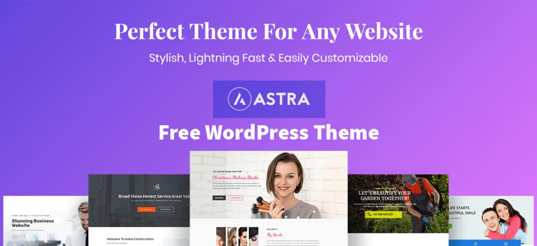 Astra Website Building