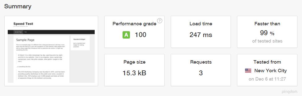 GeneratePress Performance