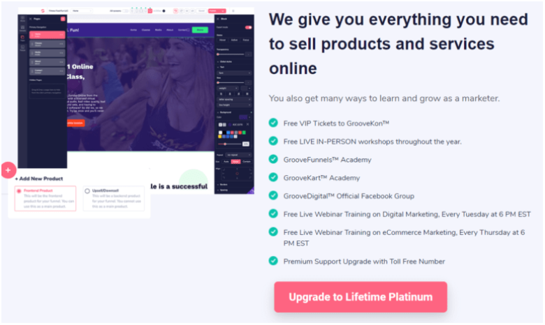 Groovefunnels - Sell Product And Service