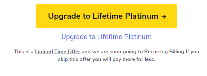 Upgrade To Lifetime Deal